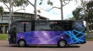 Napa Wine Tour Bus